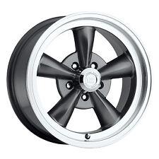 1- 17x9 Vision 141 Legend 5 5x4.75 0mm Gunmetal Wheel Chevy Nova Buick 5 Lug Rim