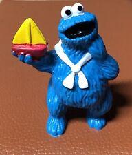 Vintage 1982 Tara Toy Ctw Cookie Monster & Boat Muppets Sesame Street 3�