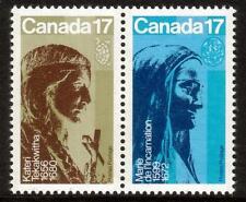 Canada MNH 1981 i canadesi del Seicento le donne. statue di Emile BRUNET