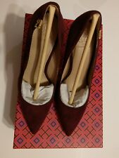 Tory Burch Suede Pointy Pump size 5.5