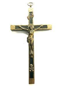Messing Kreuz Kruzifix Jesus Kreuz Neu verziert 667