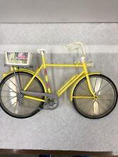 Vintage 1973 Mattel Barbie Yellow 10 Speed Bike