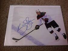 Kevin Shattenkirk Autographed 8x10 Photo St. Louis Blues Colorado Avalanche USA