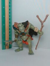 Mini Papo Fantasy Green Ogre Action Figure Warrior Warcraft Low Priced Rare