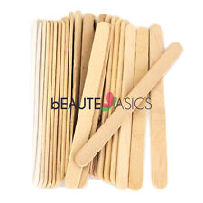 100 Wax Wood Spatulas Facial Eyebrow Waxing Sticks, - PW2011x1