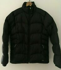 Eastern Mountain Sports Black Goose Down Puffer Jacket Womens Size Small