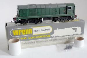 WRENN RAILWAYS (W2230NP) CLASS 20 - BO-BO GREEN (NON POWERED) D8010 (BOXED)