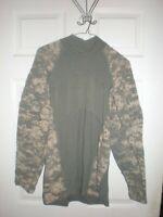 USGI ACU Massif Small Digital Camo Army Combat Shirt Flame Resistant ACS