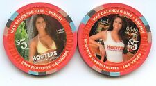 Hooters Casino Sherry May $5 Chip 2006