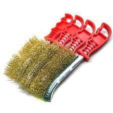 Plaqué laiton l'enlèvement de la rouille nettoyage main brosse spid (Pack de 4)