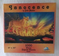 INNOCENCE PUZZLE Mountain Lion and Cubs JOH NAITO 1000 Piece SUNSOUT Brand New