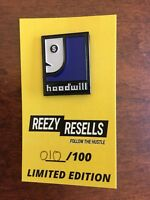 """Rare """"Hoodwill"""" Goodwill Pins #10, 11, And 17 Of 100!"""