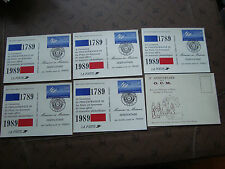 FRANCE - 6 cartes (cy80) french