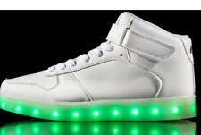 Neon Kyx Kids Light Up Shoes High Tops White Retails $74.99 Size 1 Youth