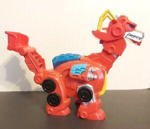 Transformers Heatwave Rescue Bots Large Dragon Dino Bot Figure Electronics Work