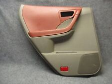 2003-2007 Nissan Murano LH Rear Power Door Panel Cabernet & Gray OEM 30456