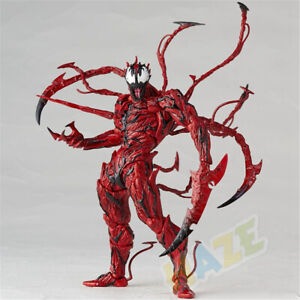 Spider Man Venom Movable Action Figure Model Toy Collection In Box