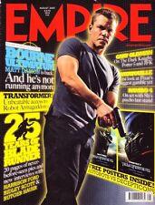 Empire Magazine #218  Matt Damon Bourne Gary Oldman Rambo Ratatouille