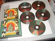 Merry Christmas Everybody 5 cd READERS DIGEST -83 TRACKS -1993 cds Ex