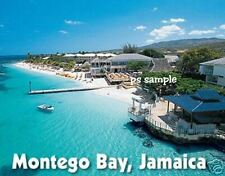 Jamaica - MONTEGO BAY - Travel Souvenir Flexible Fridge Magnet
