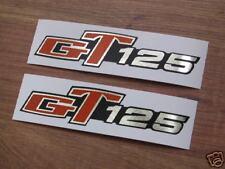 Suzuki GT125 side cover decals