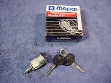 LOCK CYLINDER Keys TRUNK NEW Mopar 04378175 Chrysler Lebaron Caravan 87-90  A4