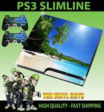 PlayStation 3 - Slim Videospiel-Faceplates & -Designfolien für die Konsole