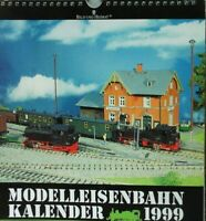 Kalender Bild und Heimat Modelleisenbahnkalender komplett 1999 Y5-659