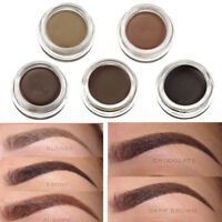 Étanche Durable Pommade Crème Gel Sourcils Eyebrow Eyeliner Maquillage +   +A