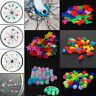 36/26pcs Bicycle Bike Wheel Plastic Spoke Bead Children Clip Colored Decoration