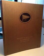 Walker & Hall Sheffield - Scarce 1930s Hardback Catalogue - Silver, Plate, Etc.