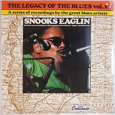 SNOOKS EAGLIN: Legacy of Blues New Orleans SEALED GNP Crescendo LP
