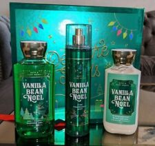 SET Bath & Body Works VANILLA BEAN NOEL Gift Box DECK OF HALLS