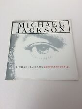 MICHAEL JACKSON - YOU ROCK MY WORLD - RARE CARD SLV CD SINGLE (SEALED)