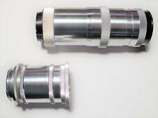 Carl Zeiss Jena Triotar 1:4 f=13.5cm Telephoto Lens + Barlow Extension
