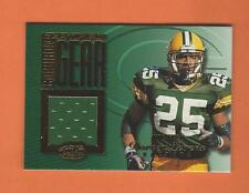 1999 LEAF CERTIFIED GRIDIRON GEAR DORSEY LEVENS GAME-USED JERSEY #d 202/300