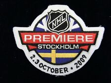 NHL Premiere Game 2009 Stockholm Sweden Patch Detroit Red Wings rare