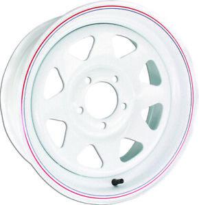 """AWC 8 Spoke Steel Trailer Wheel 15""""X5"""" 8055012"""