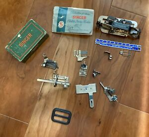 Singer 99-31 sewing machine manual, accessories and parts 160809 & 121795 others