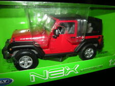 1:24 Welly NEX Jeep Wrangler rot/red Nr. 22489H OVP