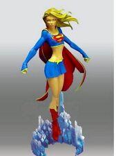 "9"" Sexy SUPER GIRL ON CRYSTAL Base Resin Model Kit 1/8"