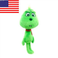 US SHIP The Grinch Plush Toy Young Grinch Soft Stuffed Doll for Kids Xmas Gift