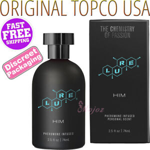 LURE For HIM Pheromone Infused Personal Scent Perfume Attractant Cologne 74ml
