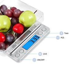 LCD Electronique Capacité Ecran Haute Précision Balance de Cuisine 0,01-500g