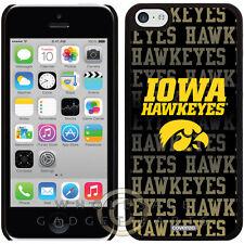 Apple iPhone 5C/i5C/Lite Licensed Shield NCAA Iowa Hawkeyes Repeating Case