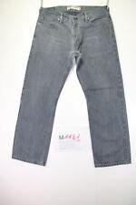 Levi's 514 schlank straight(cod. M1181) Gr. 50 W36 L30 Jeans grau/schwarz