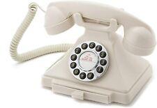 Old Fashioned Phone Antique Desk Classic Ivory Telephone Retro Vintage NEW