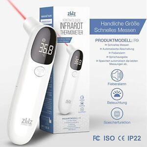 Fieberthermometer Kontaktlos Digital Thermometer LCD Infrarot Stirnthermometer