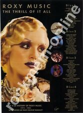 Roxy Music The Thrill Of It All LP Advert