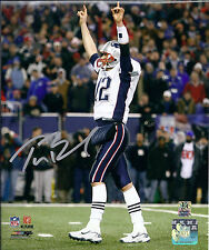 TOM BRADY AND RON GRONOWSKI  ( PATRIOTS ) - TWO  5 x 7 SIGNED PHOTO REPRINTS